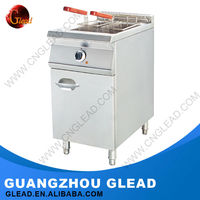 Heavy Duty Commercial fryer gas with temperature control