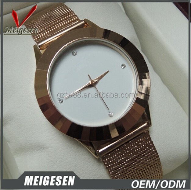 Attractive alloy watch new design for women ,OEM & ODM factory