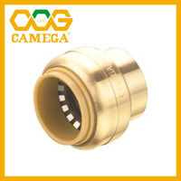 "Lead Free Brass Push Fit Stop end 1/2"" 3/4"" 1"""