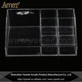 Wholesale fashion transparent acrylic cosmetic make up display holder