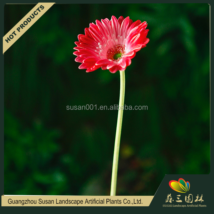 Beautiful color custom decorative artificial gerbera flower, gerbera plants sale india