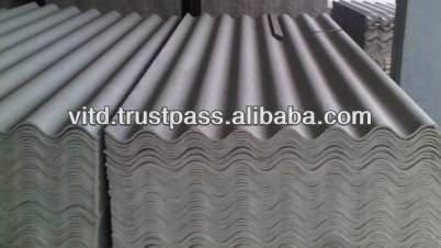 PVA fiber Non asbestos cement corrugated sheets best quality