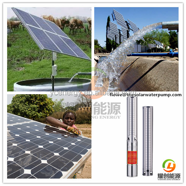 40 HP 30 KW 3 inch 4 inch 5 inch 6inch submersible solar water pump for borehole 200mm-300mm Diameter Deep well