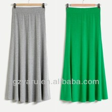 100% cotton pictures of ladies long skirts