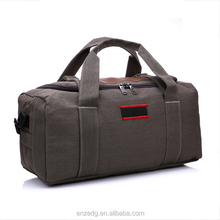Vintage canvas men travel bags women weekend carry on luggage & bags sport leisure duffle bag