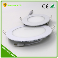 Factory price slim round led ceiling panel light 18w for India market elevator rgb led light panel