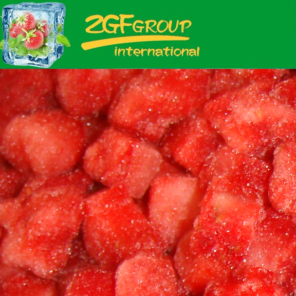 frozen fruits IQF Chinese Bulk Frozen Strawberry Sliced