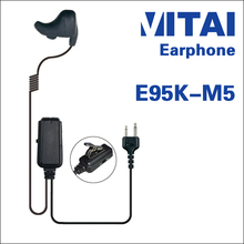 VITAI E95K-M5 Bone Conduction Type Handheld Transceiver Earphone Suitable for GP-328 GP-338 DP-340
