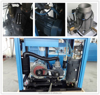 400V Single stage belt drive screw air compressor