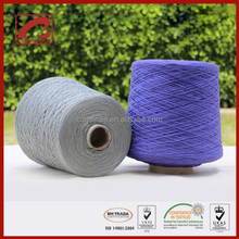 Top Line various colors fancy style 100% mercerized cotton tape yarn