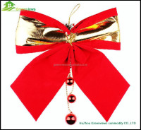Christmas decoration bow gift bow Various designs decoration christmas mesh bow