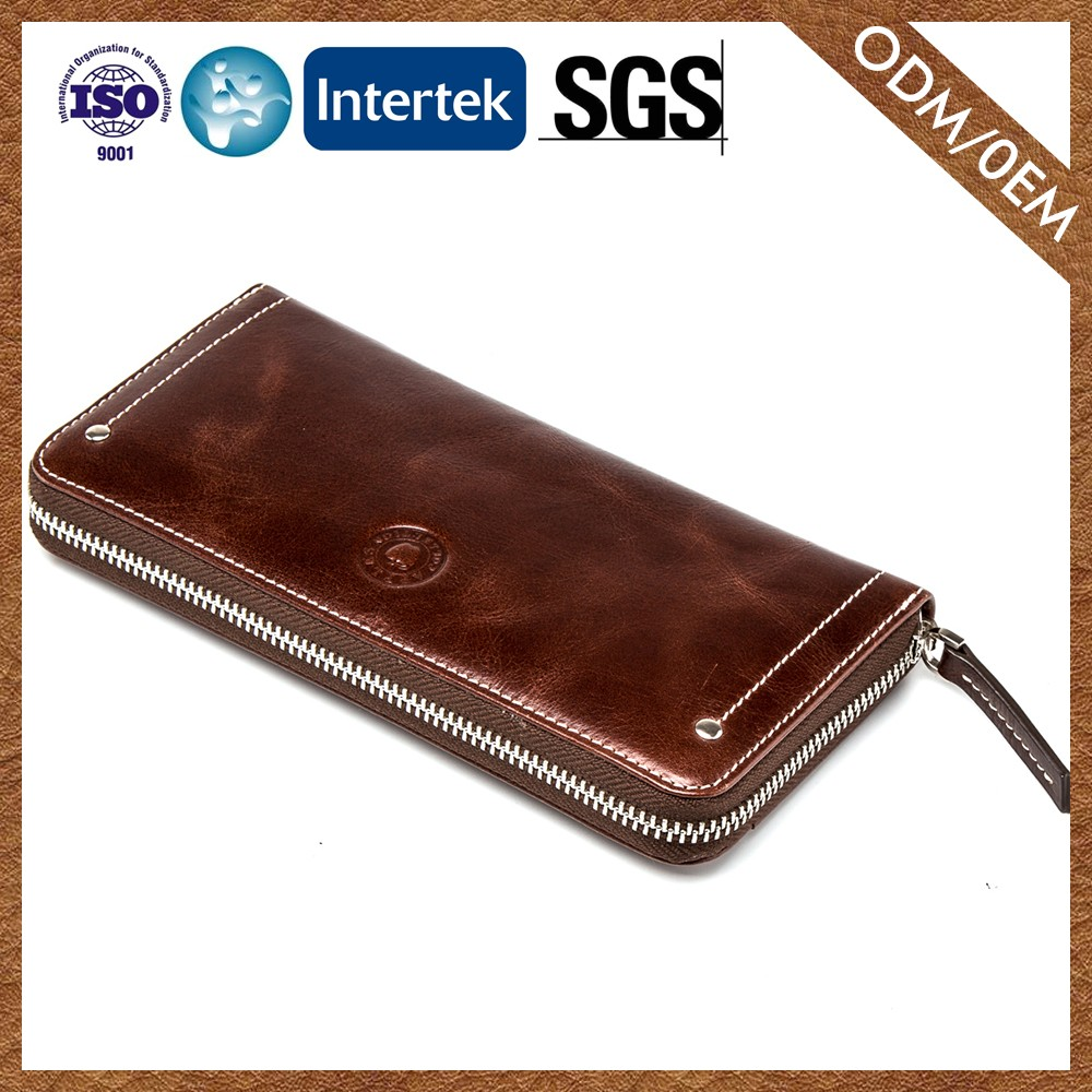 Wholesale Fashion Style Special Design Export Quality Ladies Genuine Leather Wallet Coin Purse