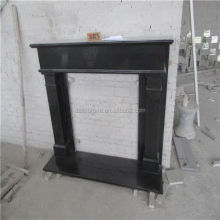 Indian Black Granite Fireplace Mental