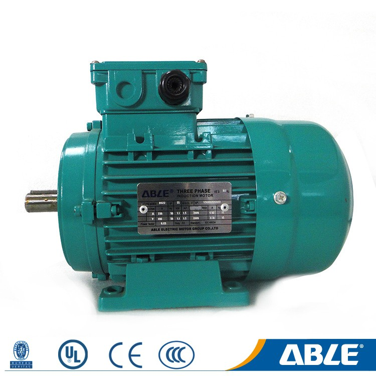 Able ms series custom 3 three phase slip ring induction motor manufacture