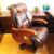 Luxury Leather Executive Wooden Office BOSS CEO Chair