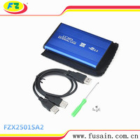 Hot sale USB2.0 to 2.5 SATA Hard Disk Drive Caddy/Enclosure/Case