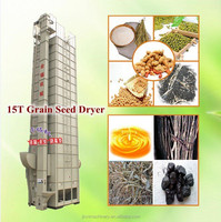 Famous Brand Batch Type 15T Circulating Grain Seed Dryer