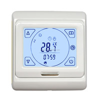 Thermoregulator Touch Screen Heating Thermostat for Warm Floor, Water, Oil Gas Boiler Heating System Thermostat