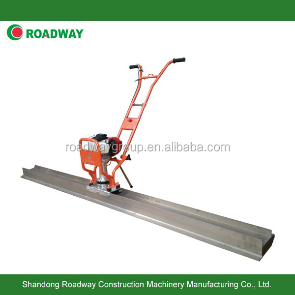 hand push concrete vibrating screed