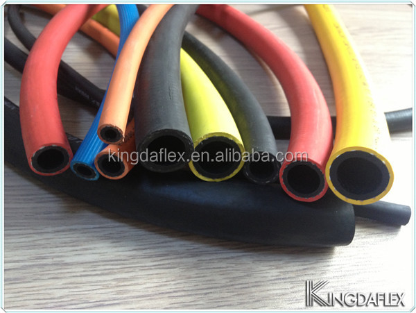 Red Blue Black Yellow Silicone rubber hose Rubber Air Water Hose