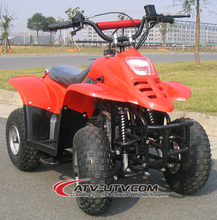 Hot-sale CE proved 50CC electric starter 6 inch tyres big front light Gasoline ATV for Kids