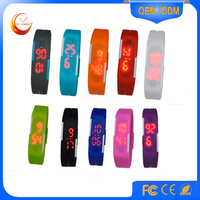 Free sample LED Wrist Watch silicone Led Watch watches for kids