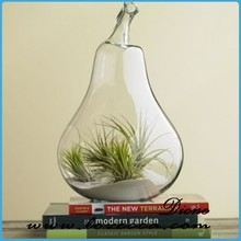 wholesale glass vase for outdoor decoration, glass art vase home decor