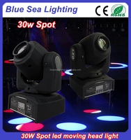 30w led mini spot moving head stage light supplier