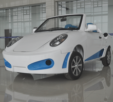 2 seat Electric convertible sport car made in China
