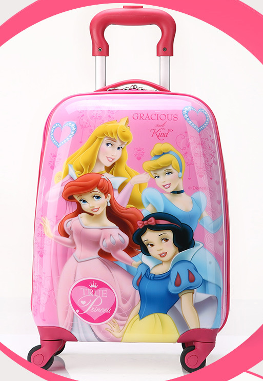 cute children luggage, kids hard shell luggage,children travel trolley luggage bag