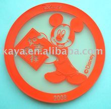 Transparent mouse silicone cup pad
