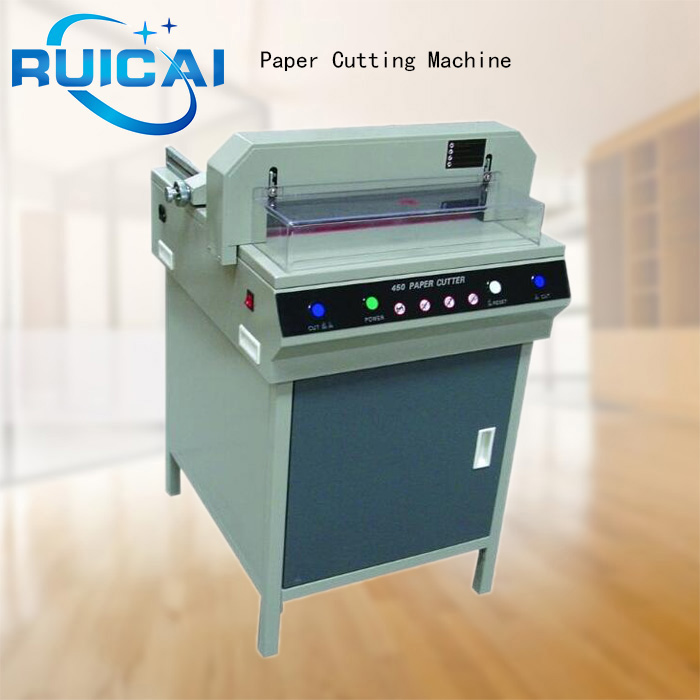 RC-450V+ Mini Paper Cutter for Cutting Paper Stable and Durable Hydraulic Guillotine Paper Cutter