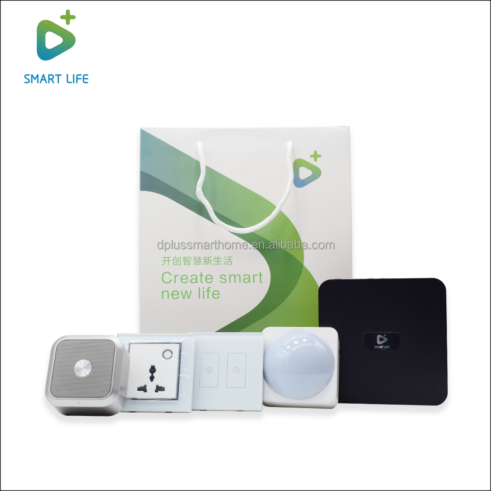 D+ Brand IOT Mobile home Automation Not Zigbee Z-Wave Smart Home Security Systems
