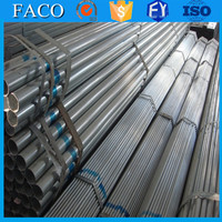 steel structure building materials ! pre-galvanized for greenhouse threaded galvanized pipe 2 1/2 inch