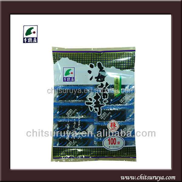 wholesale japanese roasted seaweed snack made in china food