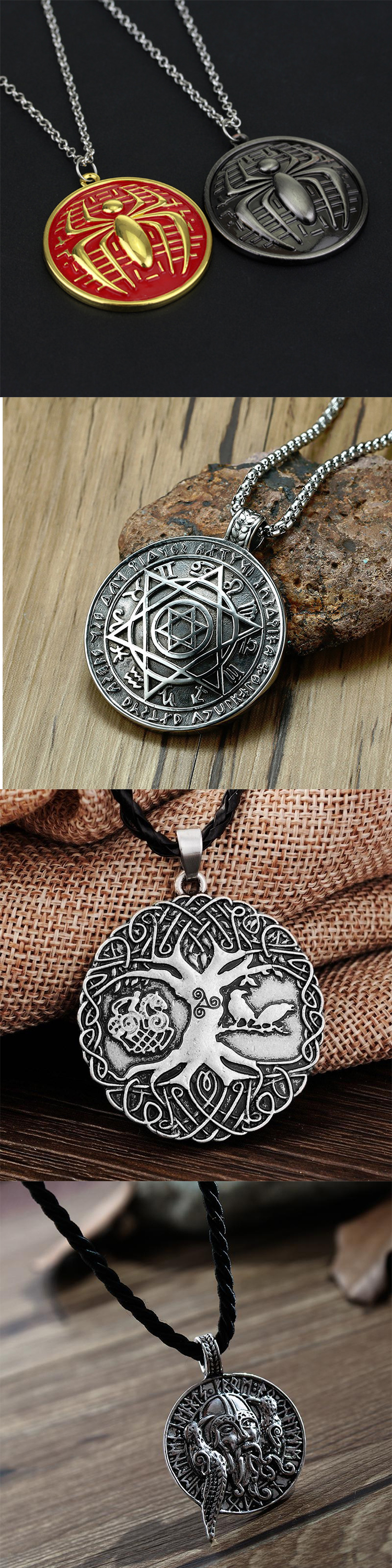 3D Logo Promotional China Factory Making Custom Metal Antique Pendants