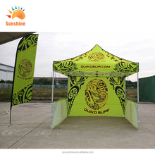 PU coating camping beach outdoor 5*5 pop up sports manufactory gazebo exhibition aluminum frame event tent