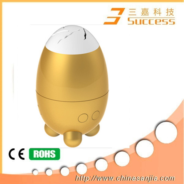 2014 New year and chiristams egg shape stand dock and floating dock speaker stand marine dock speaker with bluetooth function