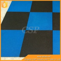 wear-resistant outdoor waterproof rubber basketball court flooring