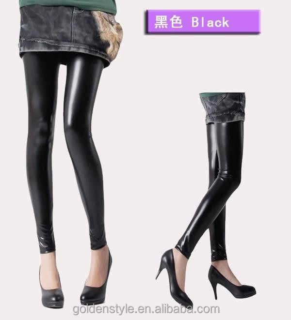 2014 the new Europe and the United States of hollywood render fashionable candy color nine minutes of pants Light metallic s