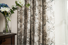 cotton blackout window curtains wholesale plain elegant printed curtain bedroom living room star curtain