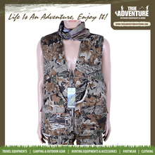 waterproof fishing clothing ployester outdoor hunting vest with pants