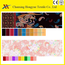 Custom designs Microfiber brushed polyester peach skin printed textile fabric for bed sheet,bed cover and pillowcase