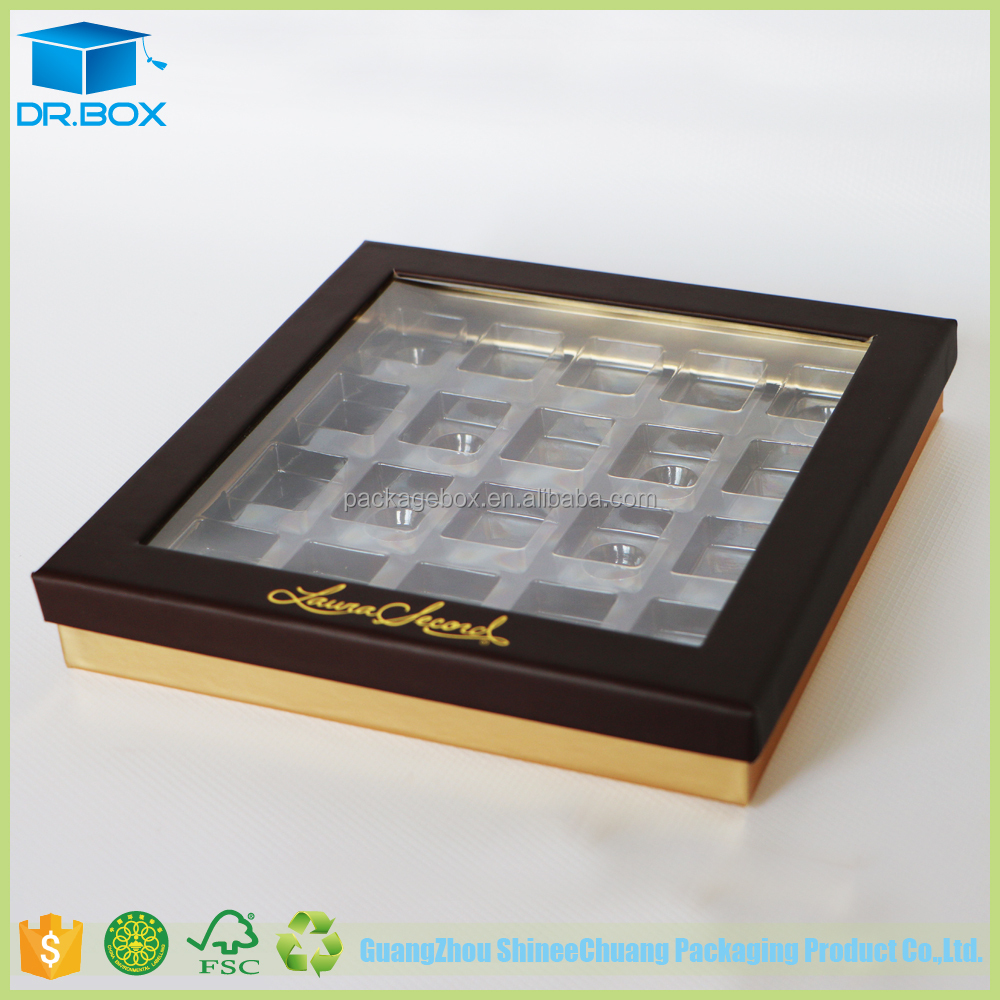 High Quality Customized Merci Chocolate Box/Chocolate Boxes Box Inserts/Chocolate Box Packaging