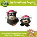 cute bear shaped pet latex toy,pet squeaky toy
