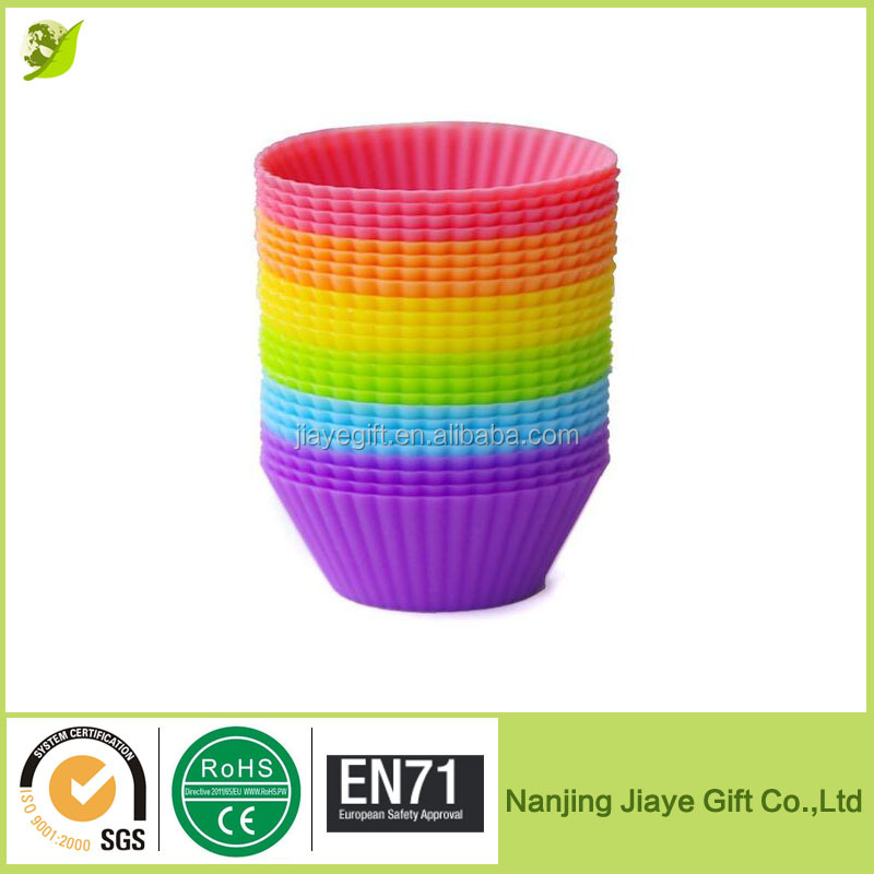 Reusable and Non-stick Mini Silicone Baking Cups