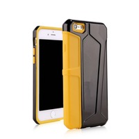 Soft High Definiton Ultra thin tpu+pc case for iphone 6 6p back cover