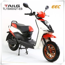 2016 new arrival EEC motorbike scooter with pedals for adults