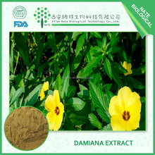 Hot sales Sex Product for Male High Quality Damiana Extract 20:1 By UV TLC