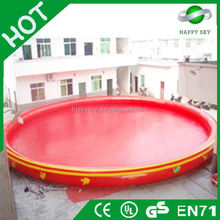 Popular giant inflatable water pool,inflatable pool bar,inflatable adult swimming pool toy